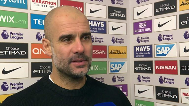 3:26                                            Pep Guardiola is pleased with the way Manchester City have responded to their defeat to Chelsea with a 3-1 win over Eve