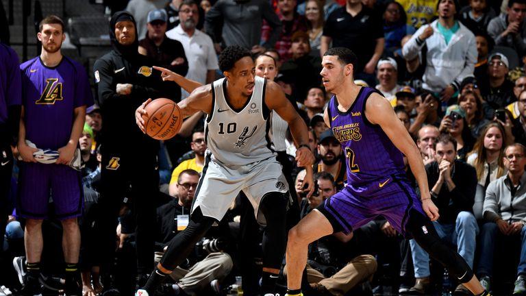 465cdad69 NBA round-up  DeMar DeRozan lifts San Antonio Spurs past Los Angeles ...