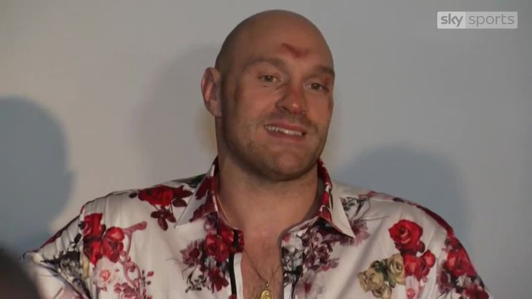 Tyson Fury clueless as to how he got up from Deontay Wilder 12th-round knockdown | Boxing News |