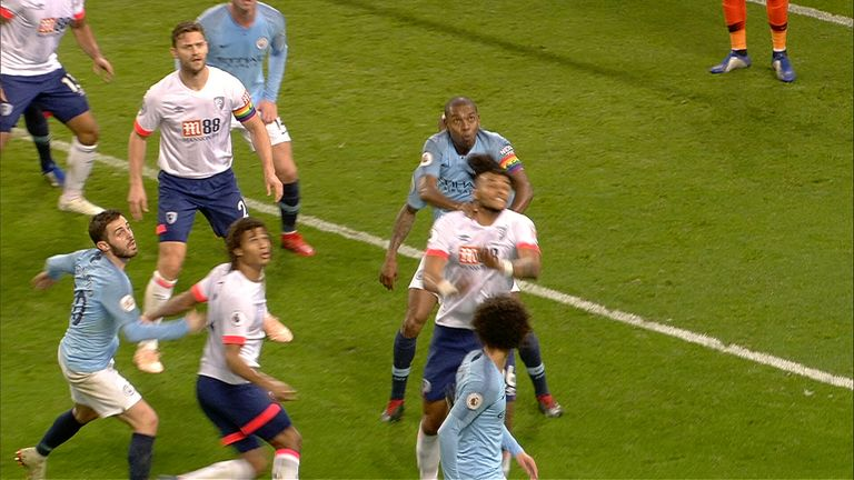 WATCH: Bournemouth see strong penalty appeal turned down at Manchester City | Football News |
