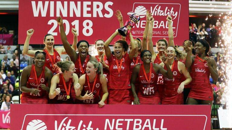 Highlights as the Roses completed a whitewash of Uganda