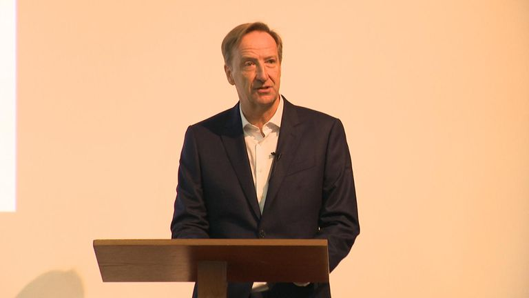 MI6 chief Alex Younger spoke to students at St Andrews University on Monday