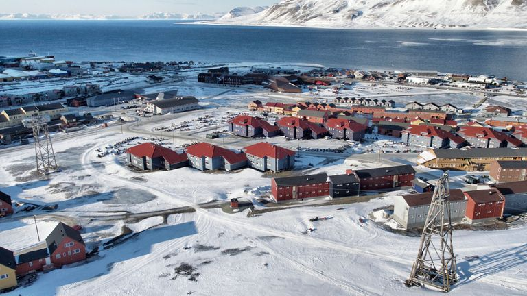 Longyearbyen has just 2,000 inhabitants