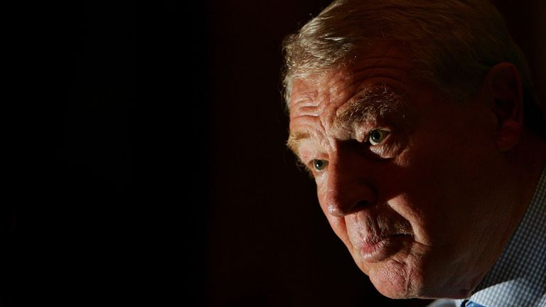 Lord Ashdown had been diagnosed with bladder cancer