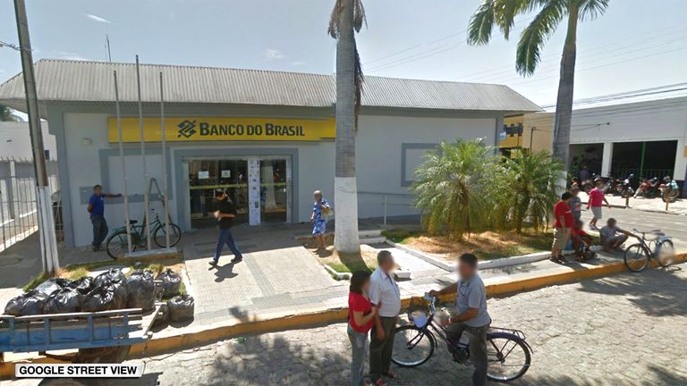 Banco Do Brasil in Milagres