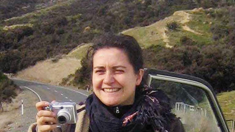Murdered German Backpacker Birgit Brauer is pictured in this file photo