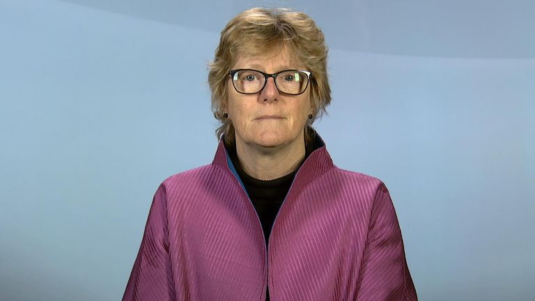 England's Chief Medical Officer Professor Dame Sally Davies