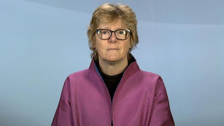 England's Chief Medical Officer Professor Dame Sally Davies