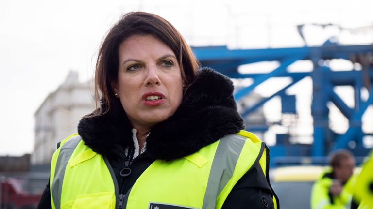 Caroline Nokes has warned increasing patrols could be a 'magnet' for migrants