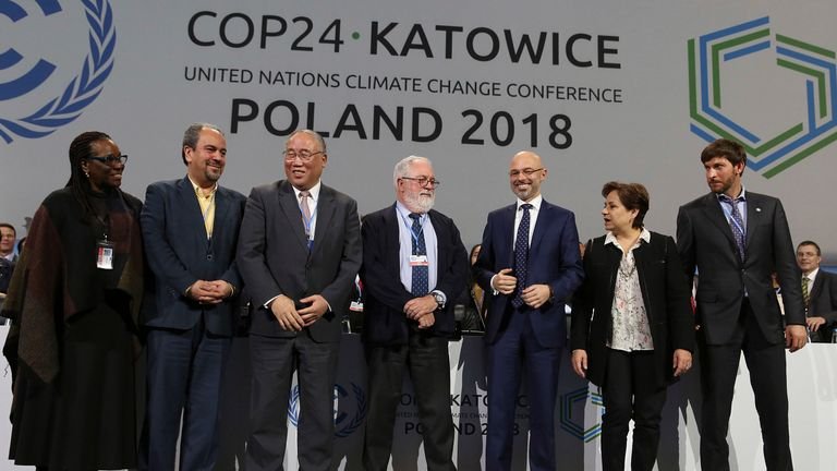 The COP24 summit on climate change in Katowice, Poland