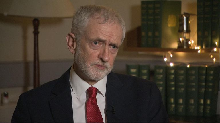 Jeremy Corbyn tabled a motion of no confidence in Theresa May, after she said MPs would not vote on her Brexit deal until January 2019.