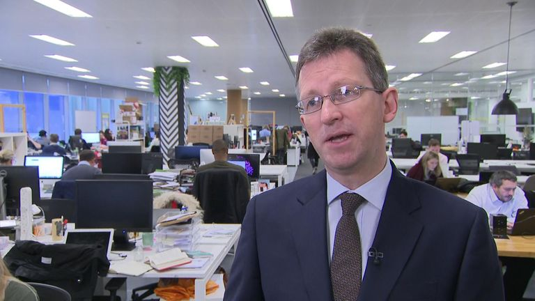 Interview with culture secretary Jeremy Wright, discussing the impact of Brexit on the technology sector. Manthorpe VT