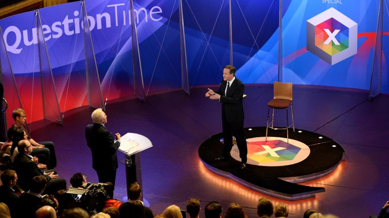 The host has led the BBC's coverage in general elections and major breaking news events