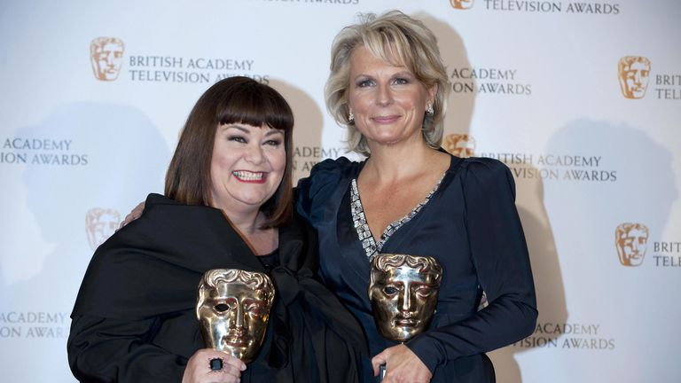Dawn French and Jennifer Saunders turned down their awards