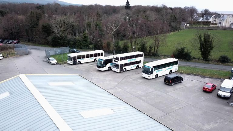 Don Reddin's bus depot benefits hugely from the UK's existing relationship with the EU