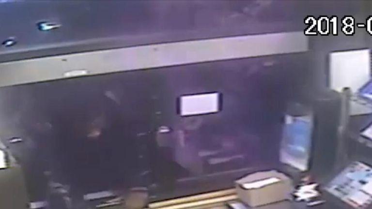 Man leans through window with a pistol at Texas drive-thru