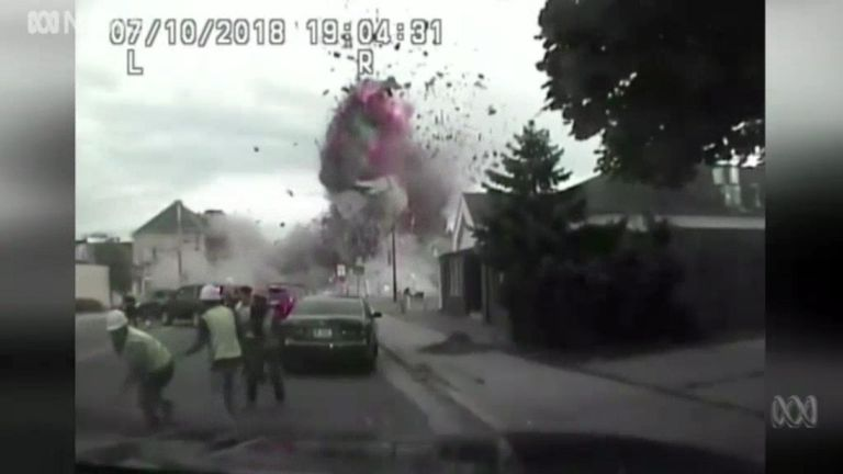 One Killed in gas main explosion