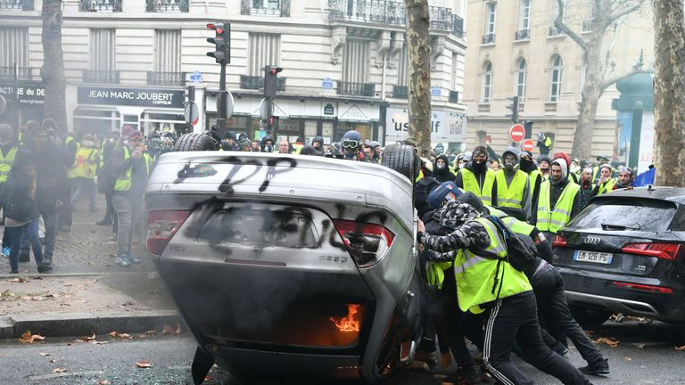 Violence in Paris