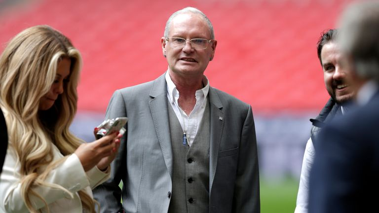 Paul Gascoigne is charged with sexual assault by touching