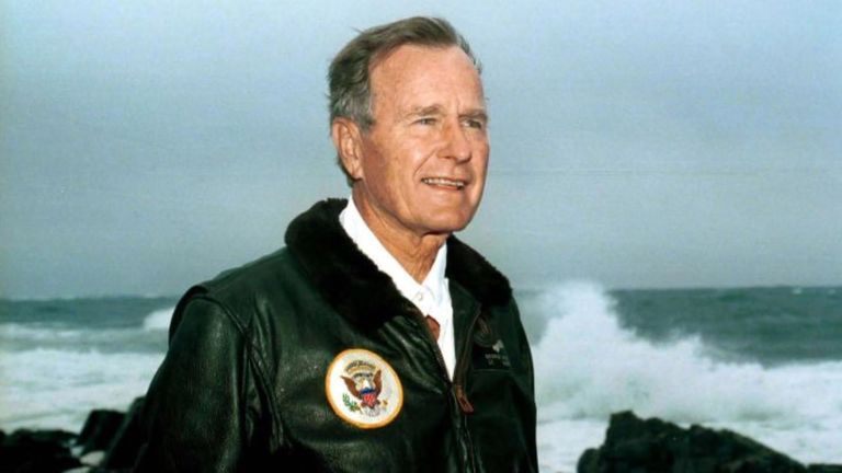 The 41st president of the United States, serving from 1989 to 1993, has died aged 94.