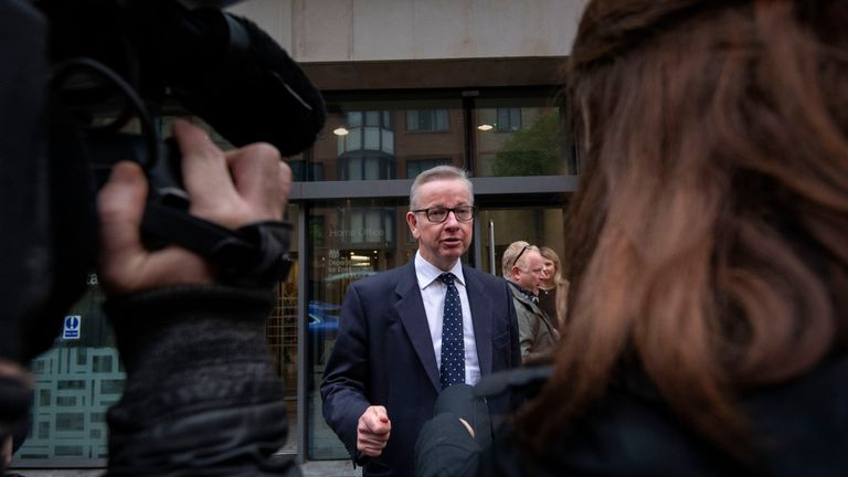 Michael Gove insists the government could win the crucial vote but admits it will be 'challenging'