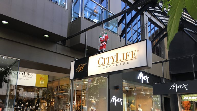 Ms Millane was last seen entering the CityLife hotel in Auckland. Pic: TVNZ