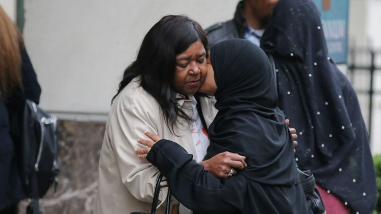 Bereaved relatives have attended phase one of the inquiry in Holborn, central London
