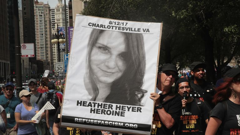 Tributes poured in for Heather Heyer after her death at the rally