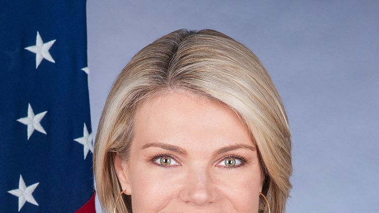 Donald Trump's pick to be US ambassador to the UN Heather Nauert