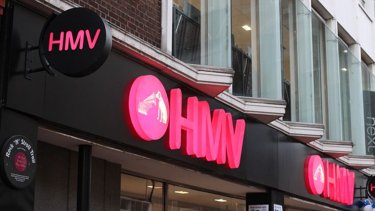 2200 Jobs At Risk As Hmv On Brink Of Administration Business News