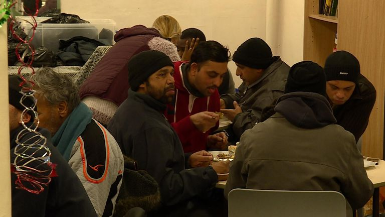 Thousands of people across the UK rely on shelters for food and a place to sleep