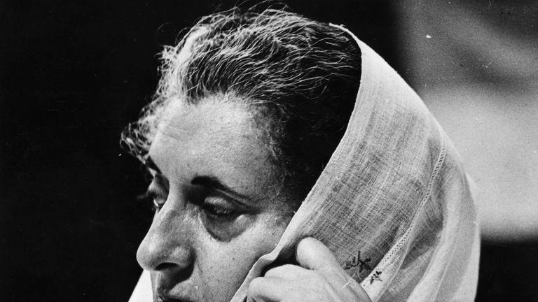 Indira Gandhi was shot dead by her Sikh bodyguards