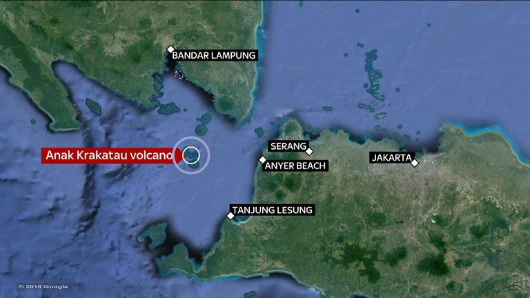The number of dead in Indonesia has risen to 429 people and more than 1,400 are injured.