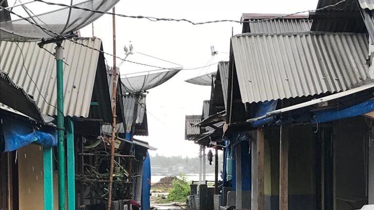 Tiluk lies on Java's western coast