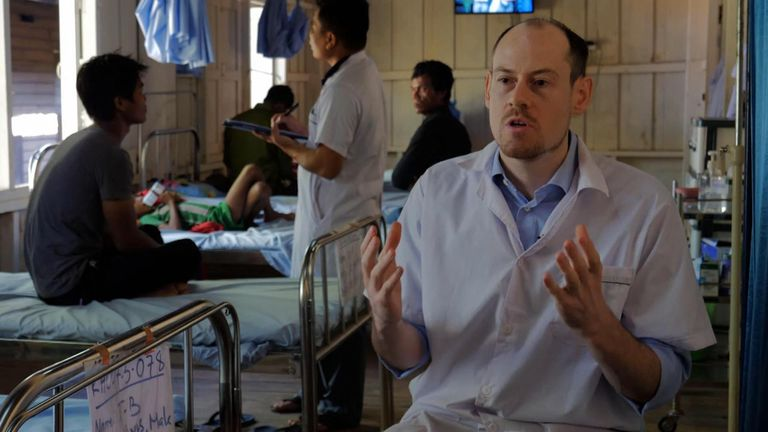 Dr James Callery from The Mahidol Oxford Tropical Medicine Research Unit
