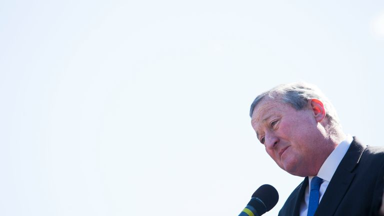 Philadelphia Mayor Jim Kenney is setting up an action plan to tackle the rise in violent crime