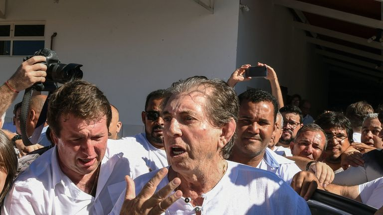 Brazilian 'spiritual healer' Joao Teixeira de Faria has been accused of sexual abuse