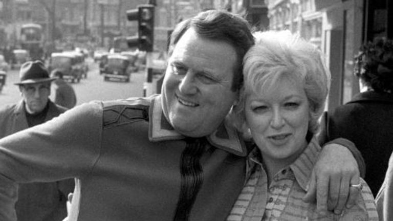 June Whitfield with Terry Scott