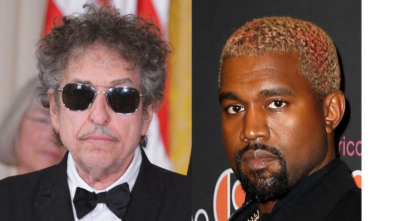 Bob Dylan and Kanye West