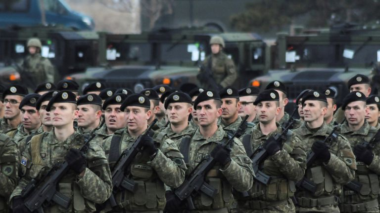 The Kosovo Security Force will keep its name as it expands