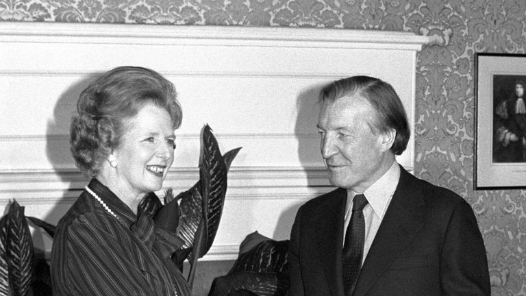 """Margaret Thatcher had an """"unusally tense"""" meeting with the Irish leader Charles Haughey after the murders"""