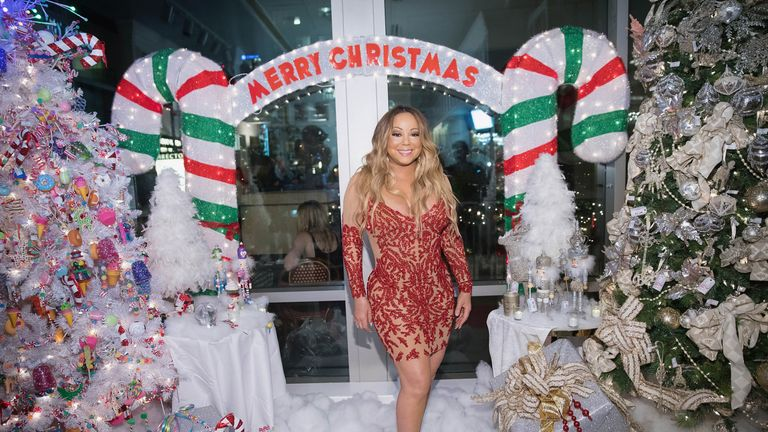 Mariah Carey's song is one of the best known Christmas hits