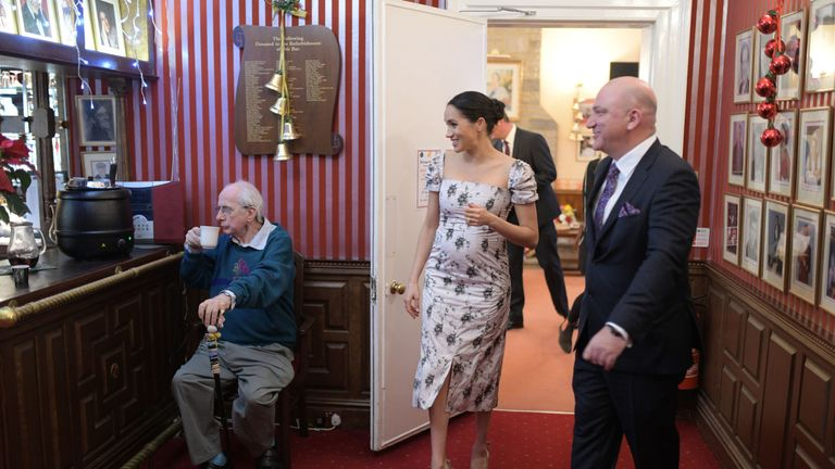 The duchess met actor Richard O'Sullivan