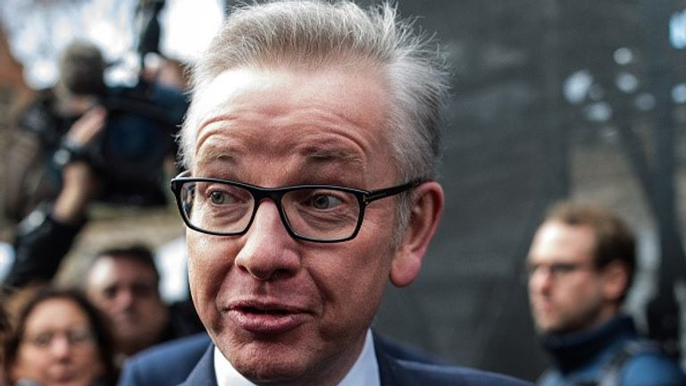 Michael Gove has laid out plans to increase the price of plastic bags