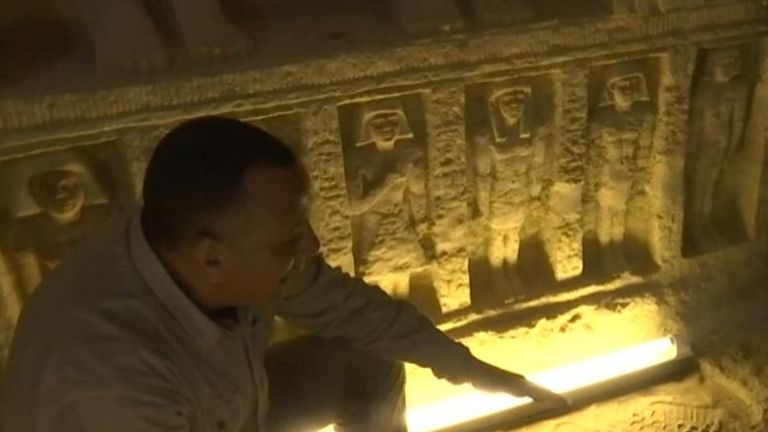 Mostafa Waziri, secretary-general of the Supreme Council of Antiquities in Egypt