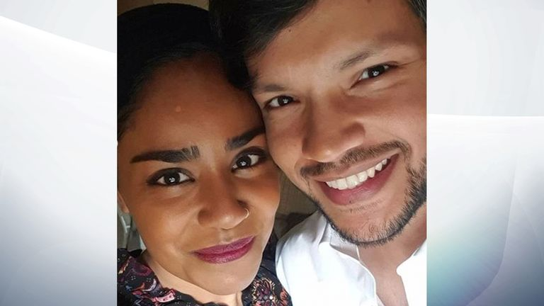 The couple were first married 14 years ago. Pic: nadiyajhussain