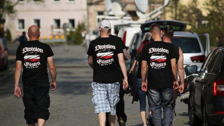 Hundreds of neo-Nazis descended on Ostritz in April for a far-right festival