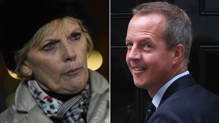 Tory MPs Anna Soubry and Nick Boles