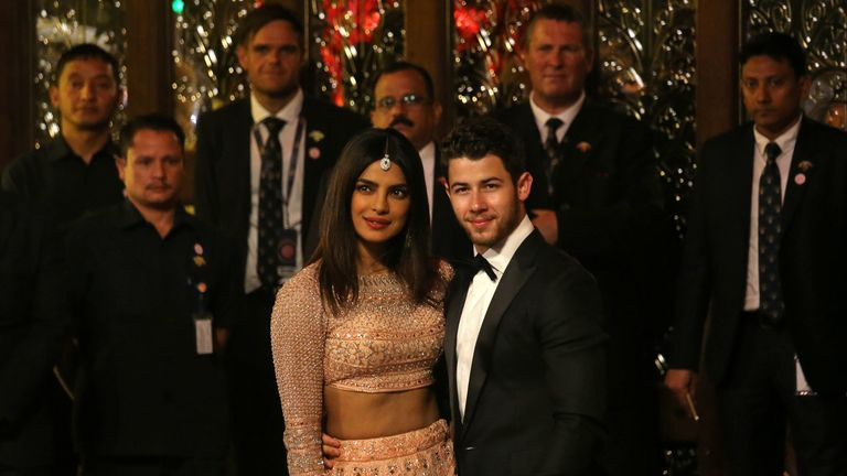 Actress Priyanka Chopra and US singer Nick Jonas caused a media storm when they married recently