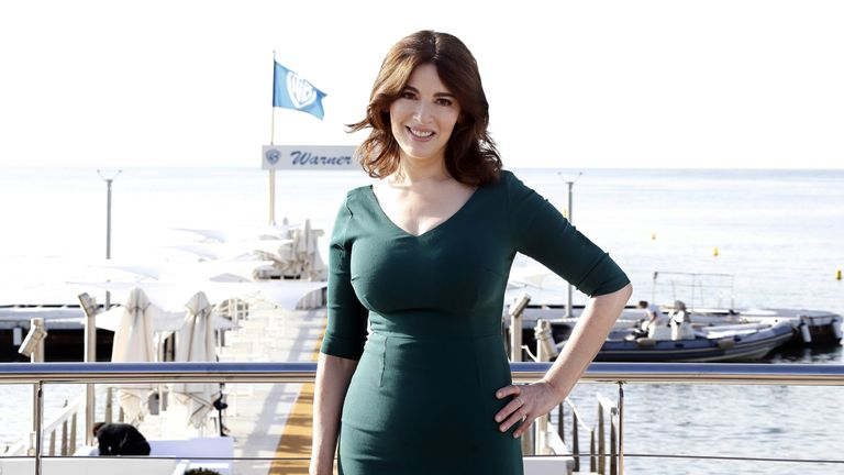 Nigella Lawson said US TV networks try to airbrush her 'sticking out stomach'